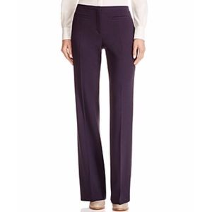 NWT Tory Burch wool tweed flare pants 12 high rise